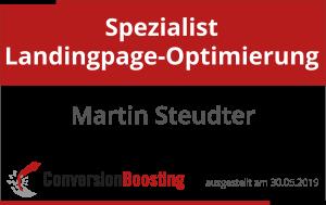 Spezialist Landingpage-Optimierung